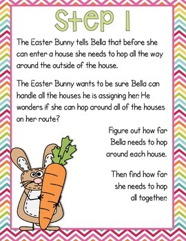 Easter Math - Finding Perimeter and Area