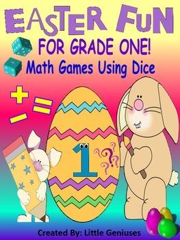 Grade One Easter Math Activities