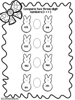 Easter Math Fun{Freebie}