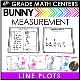Easter Math Game- Line Plots with Fractions Game