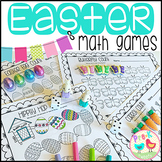 Easter Math Counting Games