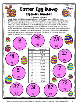 Easter Math Games First Grade: Easter Activities: Easter Math Activities