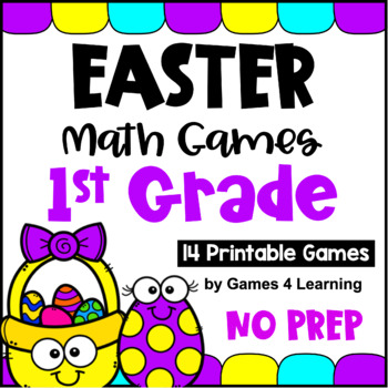 Easter Math Games First Grade: Easter Activities