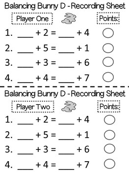 Easter Math Games For Primary Grades