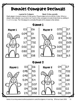 Easter Activities: Easter Math Activities: Easter Math Games Fourth Grade