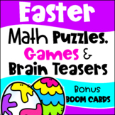 Easter Math Activities - Games, Puzzles and Brain Teasers