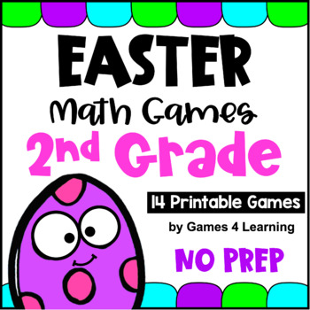Easter Math Games Second Grade: Easter Activities: Easter Math Activities