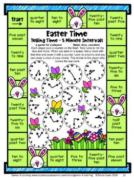 Easter Math Games Second Grade: Easter Activities