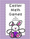 Easter Math Games-Second Grade