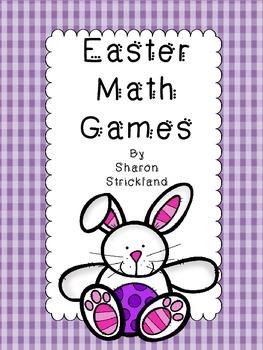 Easter Math Games-Second Grade