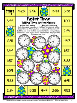 Easter Math Games Third Grade: Easter Activities