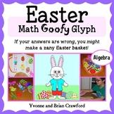 Easter Math Goofy Glyph (Algebra Common Core)
