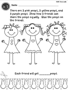 Easter Math: {Graphing, Word Problems, Adding 2 and 3 addends} FREE