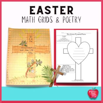 Easter Math Grids & Poetry Activities