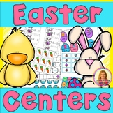 Easter Math & Literacy Centers  (11 Centers for Kindergarten or 1st Grade)