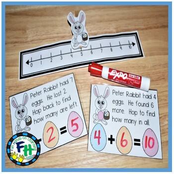 Kindergarten Easter Math & Literacy Centers