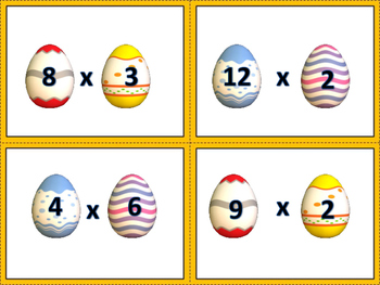 Easter Math Match Up!