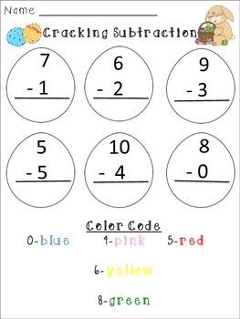 Easter Math Mini-Unit