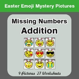 Easter Math: Missing Numbers Addition - Color-By-Number My