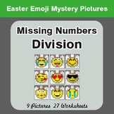 Easter Math: Missing Numbers Division - Color-By-Number My