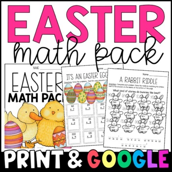 My Easter Math Packet