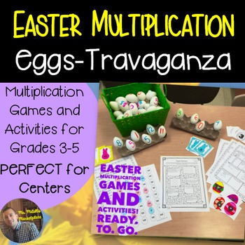 Easter Math: Multiplication Games and Activities for Grades 3-5