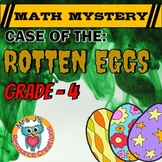 Easter Math Activity: Math Mystery - Case of The Rotten Easter Eggs