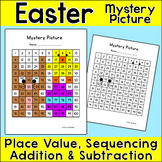 Easter Math Hundreds Chart Mystery Picture