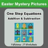 Easter Math: One Step Equation Addition & Subtraction - My