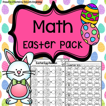 Easter Math Practice Pack!