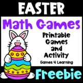 Free Easter Activities: Easter Math Games and Easter Puzzle