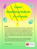 Easter Math Puzzle - Simplifying Radicals