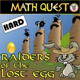 Easter Math Quest: Raiders of The Lost Egg (HARD LEVEL)
