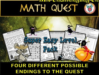 Easter Math Quest: Raiders of The Lost Egg (SUPER EASY LEVEL)