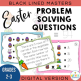 Easter Math - Open-Ended & Problem Solving Brain Teasers