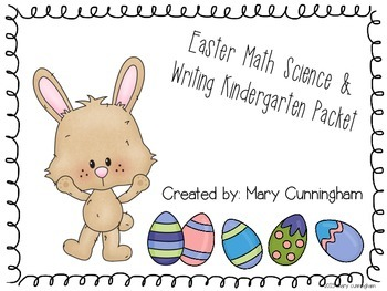 Easter Math Science and Writing Packet