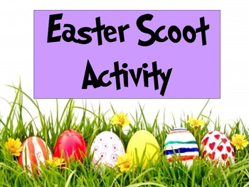Easter Math Scoot Activity