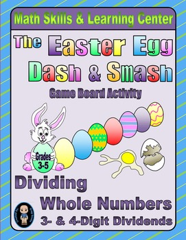 Spring Math Skills & Learning Center (Division with 3- & 4-Digit Dividends)