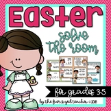 Easter Solve the Room (or Scoot!) Math Task Cards