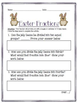 Easter Math Stations - Multiplication, Division, Word Problems and Place Value