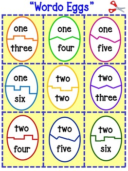 Easter Math Team Games For Primary Grades