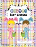 Easter Math Work Stations