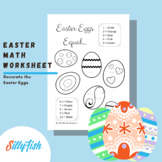 Easter Math Worksheet - Addition to 10