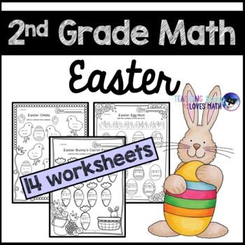 Easter Worksheets For 2nd Grade | Teachers Pay Teachers