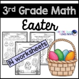 Easter Math Worksheets 3rd Grade Common Core