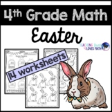 Easter Math Worksheets 4th Grade Common Core