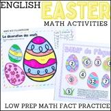 Easter - Math activities