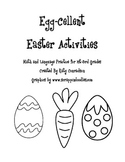 Easter Math and Language Practice