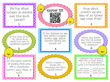 Easter Math and Literacy