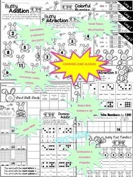 Easter Math and Literacy Activities